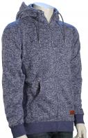 Quiksilver Keller Zip Hoody - Medieval Blue Heather