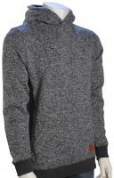 Quiksilver Keller Pullover Hoody - Dark Grey Heather