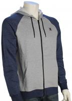 Hurley Getaway Fleece Zip Hoody - Pure Platinum