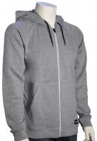 Hurley Crone Full Zip Hoody - Grey Heather