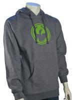 Dragon Icon Pullover Hoody - Gunmetal Heather