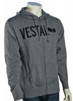 Vestal New Standard Zip Hoody - Heather Grey