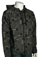 DaKine Box Print Zip Hoody - Black