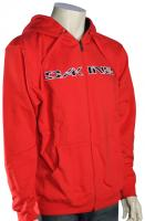 DaKine Stencil Rail Zip Hoody - Red