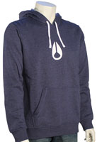 Nixon Wings Pullover Hoody - Faded Navy Heather