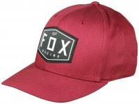 Fox Crest FlexFit Hat - Cranberry