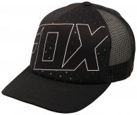 Fox Aligned Trucker Hat - Black