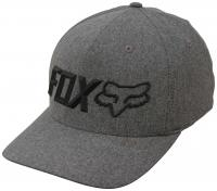 Fox Sonic Corp FlexFit Hat - Heather Graphite
