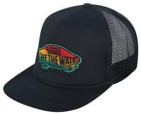 Vans Classic Patch Trucker Hat - Black / Rasta