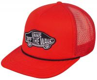 Vans Classic Patch Trucker Hat - Reinvent Red
