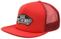 Vans Classic Patch Trucker Hat - Racing Red