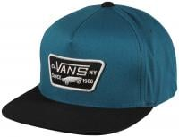 Vans Full Patch Snapback Hat - Moroccan Blue