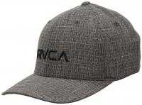 RVCA Flexfit Hat - Charcoal / Black