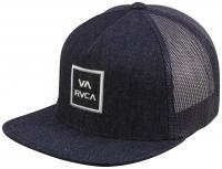RVCA VA All The Way Trucker Hat - Denim Blue