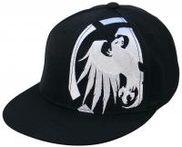 Never Summer Cropped Eagle Hat - Black / White