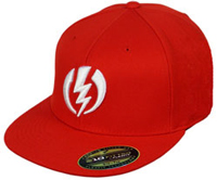 Electric Pro-Volt Hat - Red / White