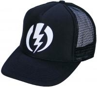 Electric Volt Foam Trucker Hat - Black