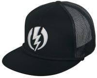 Electric New Volt Trucker Hat - Black