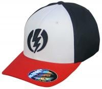 Electric Volt II Hat - Black / White / Red