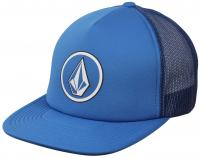 Volcom Full Frontal Cheese Trucker Hat - Deep Water