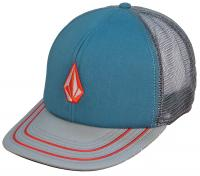 Volcom Full Stone Cheese Trucker Hat - Bright Turquoise