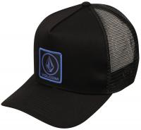 Volcom Restructured Cheese Trucker Hat - Sulfur Black