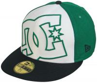 DC Coverage Hat - Black / Kelly Green