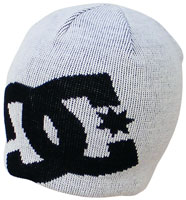 DC Big Star Beanie - White / Black