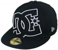 DC Coverage II Hat - Black / White