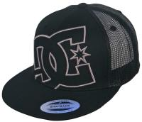 DC Daxx Trucker Hat - Black / Grey