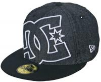 DC Coverage II Hat - Black / White / Silver
