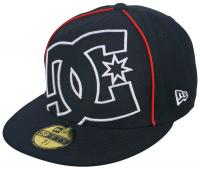 DC Coverage II Hat - Navy / White / Red