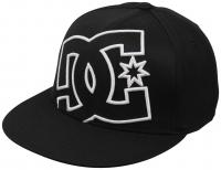DC Ya Heard Hat - Black / White / Black