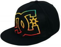 DC Ya Heard Hat - Black / Rasta