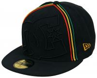 DC Coverage II Hat - Black / Rasta