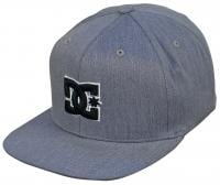 DC Snappy Hat - Heather Grey