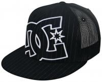 DC Daxx Trucker Hat - Black / Stripe