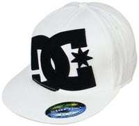 DC Ya Heard Hat - White / Black