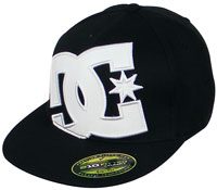 DC Ya Heard Hat - Black / White Outline