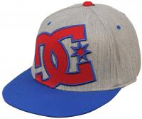DC Ya Heard Hat - Heather Grey / Nautical Blue
