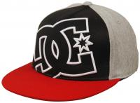 DC Ya Heard Hat - Black / Light Heather Grey / Chili Pepper