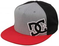 DC Heard Ya Snapback Hat - Chili Pepper / Grey Heather