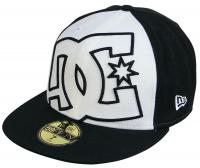 DC Coverage Hat - Black / White