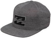 Billabong All Day 110 Snapback Hat - Black Heather