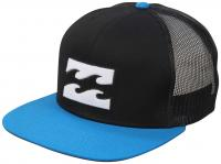 Billabong All Day Trucker Hat - Black / Cyan