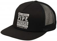 Billabong Pipe Poster Trucker Hat - Black