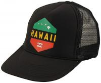 Billabong Island Hex Trucker Hat - Black