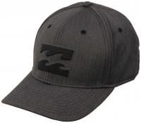 Billabong All Day Stretch Heathers Hat - Black Heather