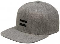 Billabong All Day Heather Snapback Hat - Grey Heather