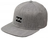 Billabong All Day Heather Snapback Hat - Light Grey Heather